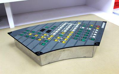 Mobile crane display console repair