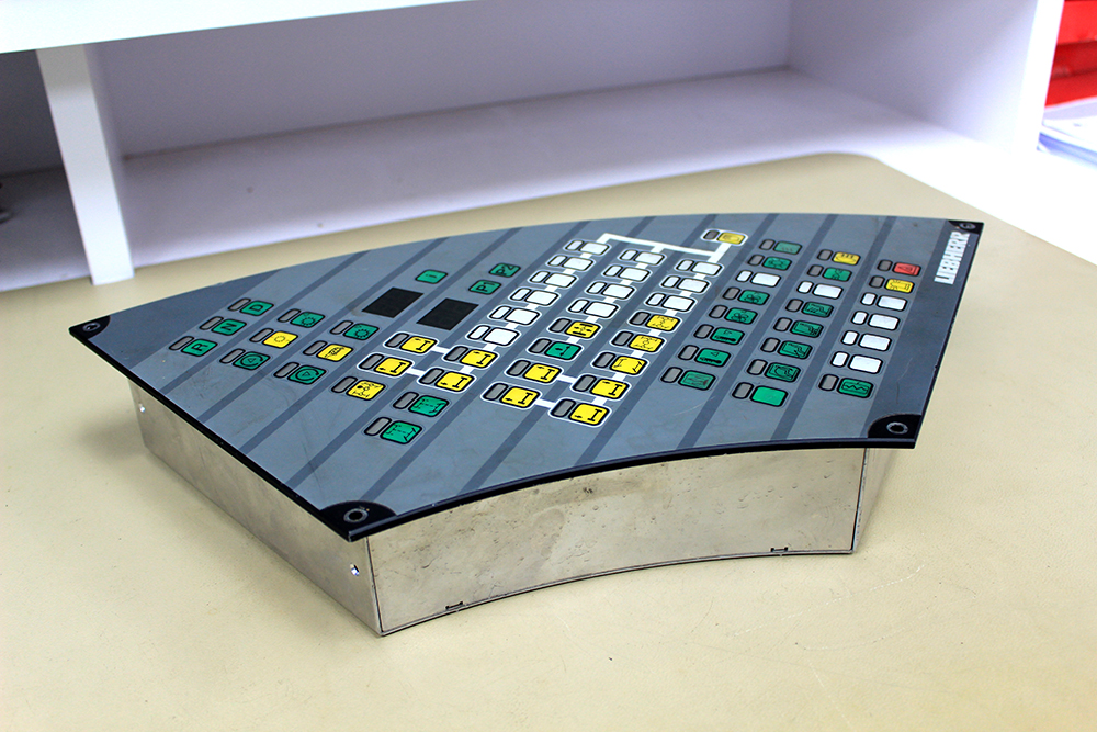 Mobile crane display console repair